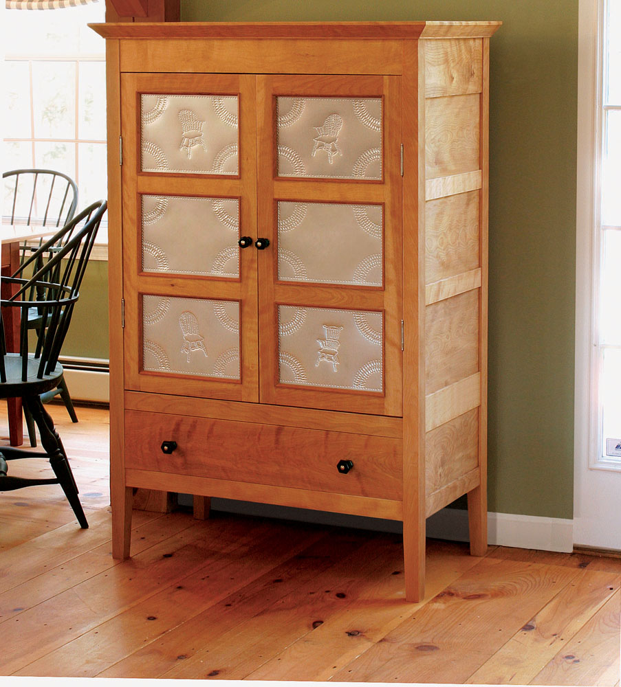 Kitchen Cabinet Woodworking Plans: Build A Pie Safe