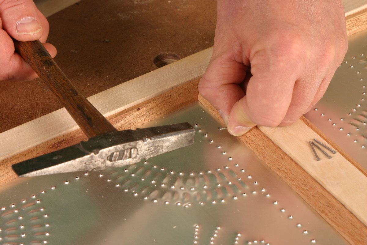 The Download Also Includes Instructions On Making And Installing Punched  Tin Door Panels.
