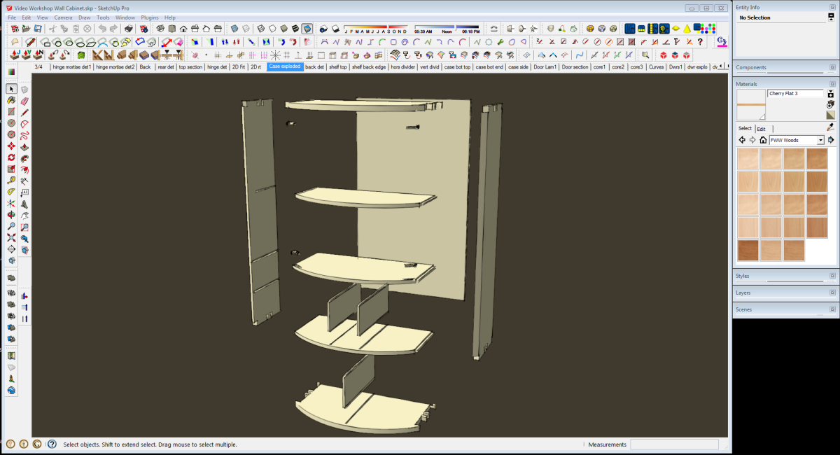SketchUp 2013 - FineWoodworking