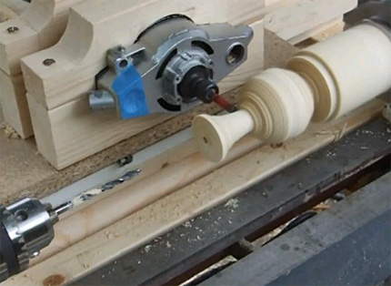 Homegrown Lathe Duplicator Finewoodworking