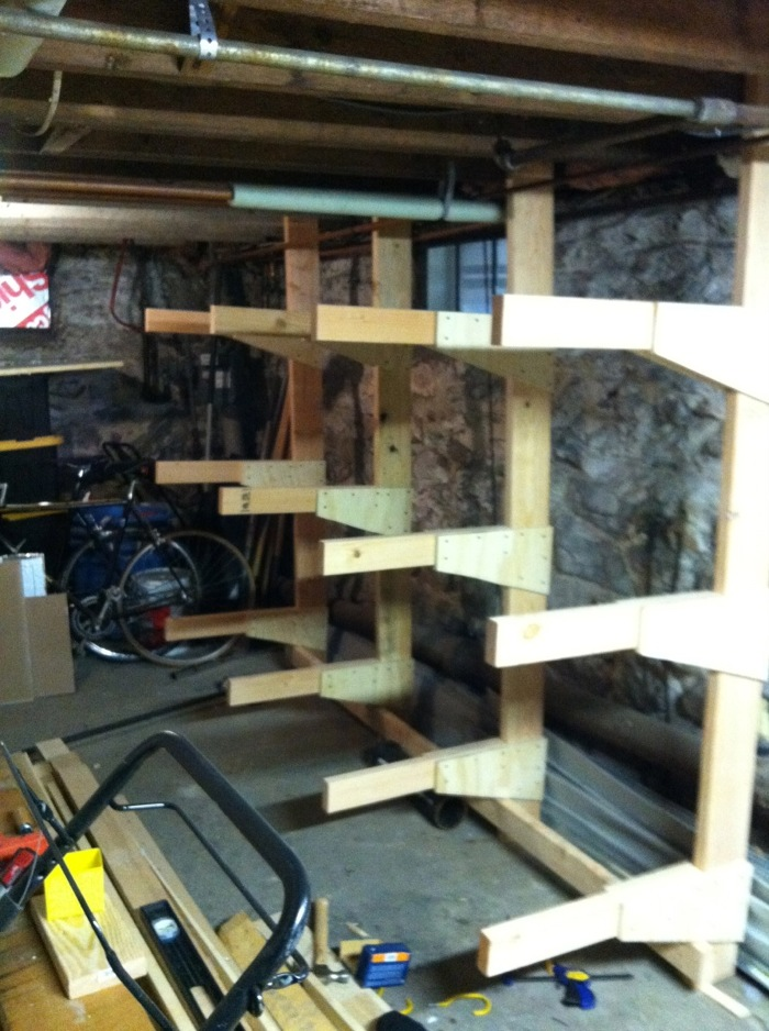 I built a lumber rack one morning - Now I have a lumber problem - FineWoodworking