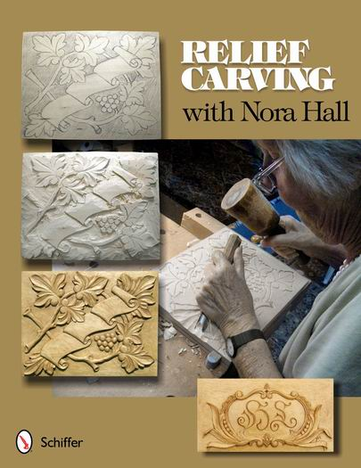 Carving book by nora hall finewoodworking