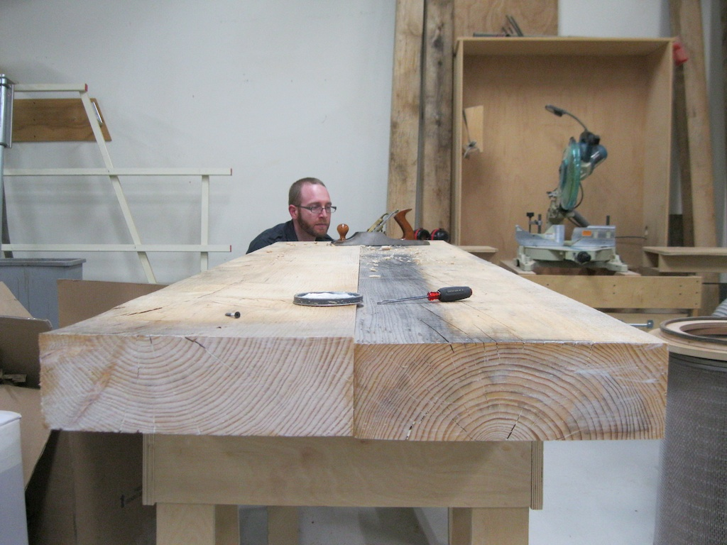 Astonishing Building A Two Slab Roubo Workbench Part 1 Finewoodworking Dailytribune Chair Design For Home Dailytribuneorg