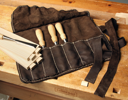 Make Your Own Leather Chisel Roll Finewoodworking