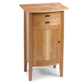 Small Curved Night Stand