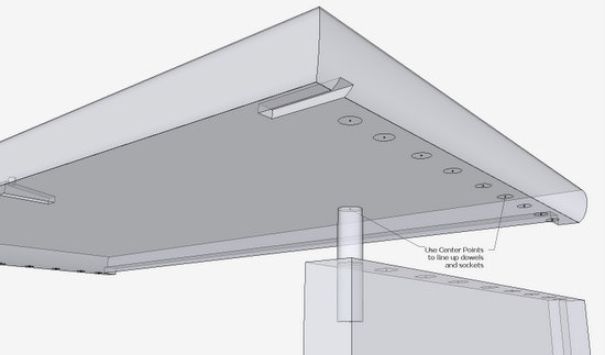 Connecting A Dowel Joint Finewoodworking