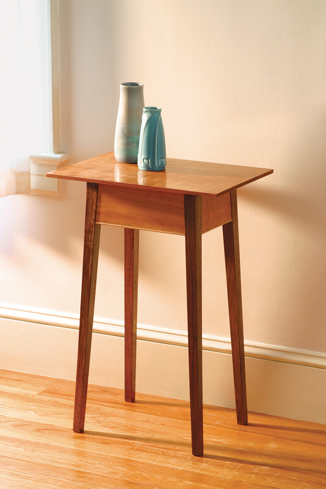 Free Woodworking Plan Build A Splay Legged Table