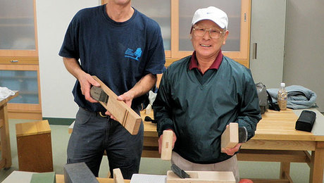 East Meets West: Garrett Hack's Trip to Japan - FineWoodworking