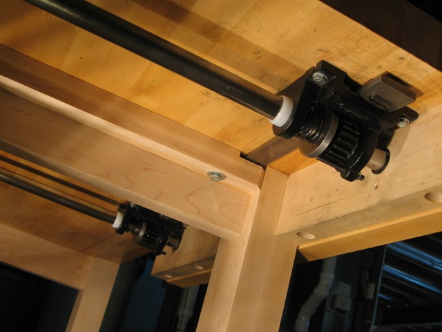 Quick Acting Vise Reinvented New Design By Len Hovarter Finewoodworking