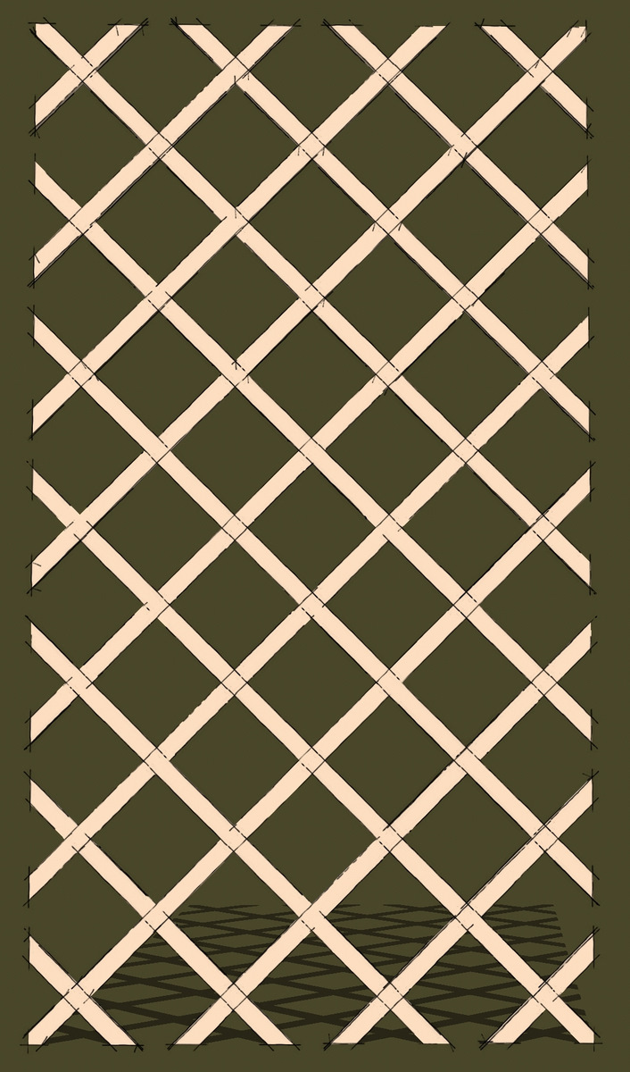 A Lattice for a Wine Rack FineWoodworking