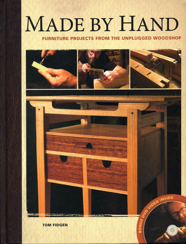 Update Book Giveaway Made By Hand By Tom Fidgen Finewoodworking