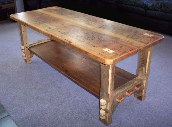 f69028a4e36 Old Growth Pine Coffee Table - FineWoodworking