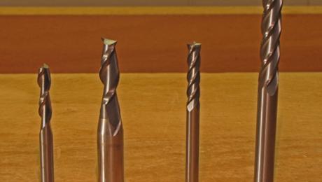 3 Flute High Helix Aluminium End Mill Carbide Spiral Router Cutter Slot Drill