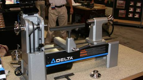 New Delta Midi Lathes Have The Power Mass And Capacity