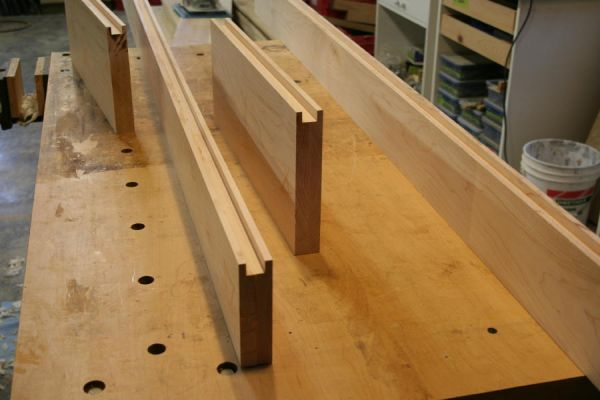 floating panel interior door parts, rails and styles