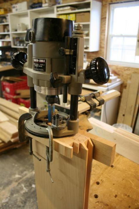 routing mortises for a loose tenon; domino joint with a router