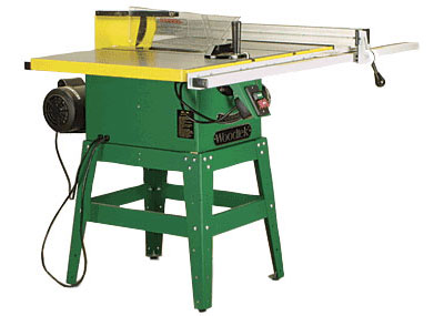 Safety manual tablesaw finewoodworking wrong way right way use a push stick to keep your hands away from the blade and a splitter or riving knife visible just behind blade to help prevent greentooth