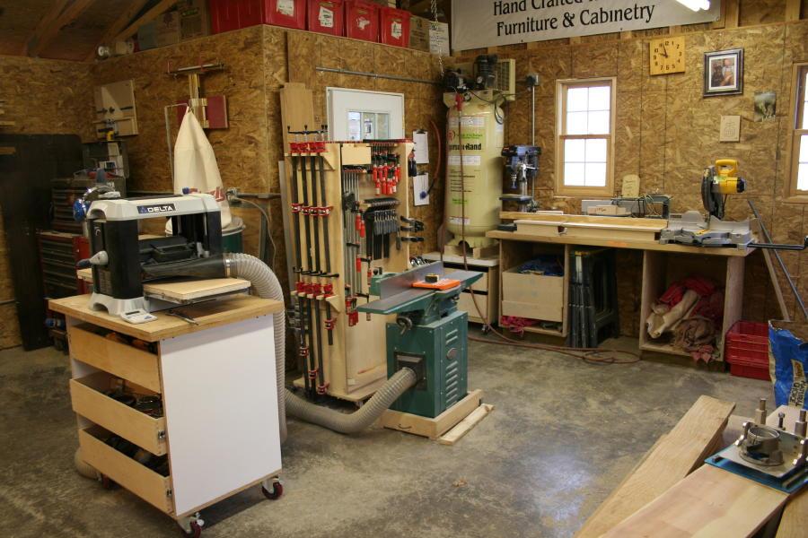 Take A Peek Inside My Shop Finewoodworking