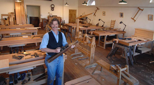 Roy Underhill Opens Woodworking School Finewoodworking