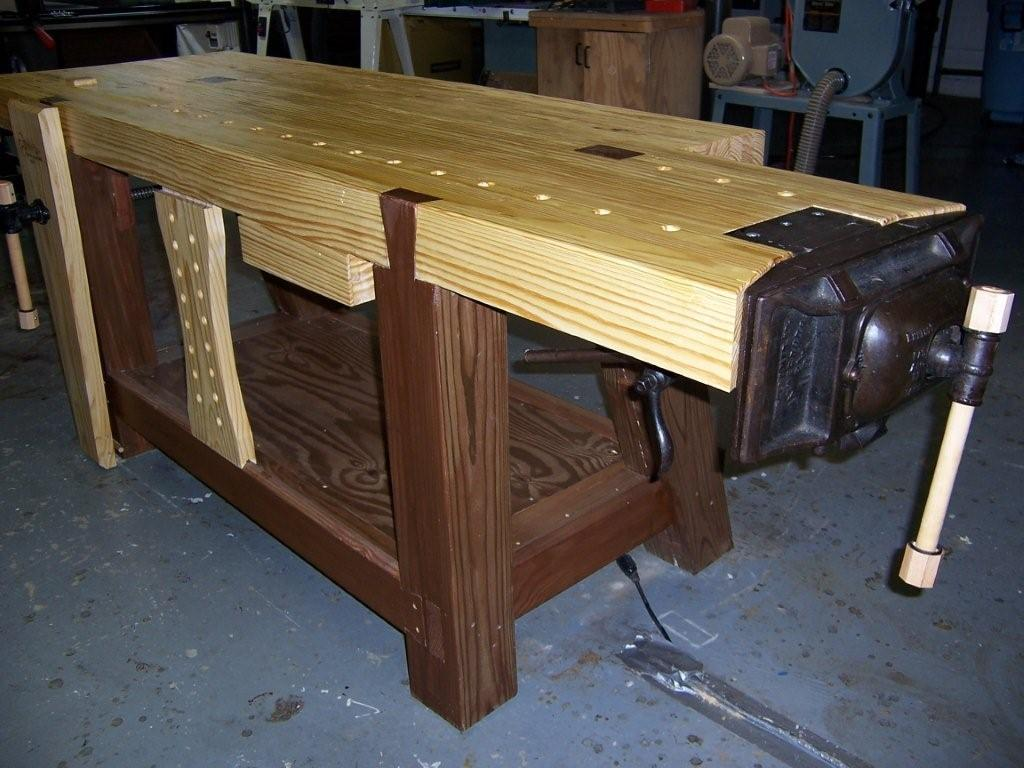 Making a Roubo Workbench: Part 5 - FineWoodworking