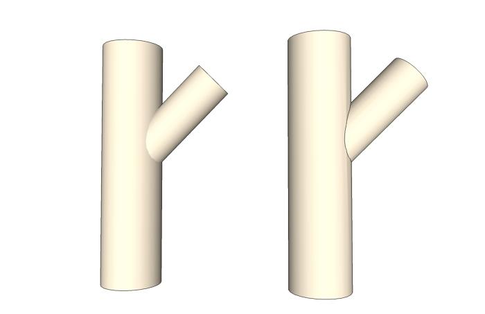 pattern making unfolding a 3d shape to make a template