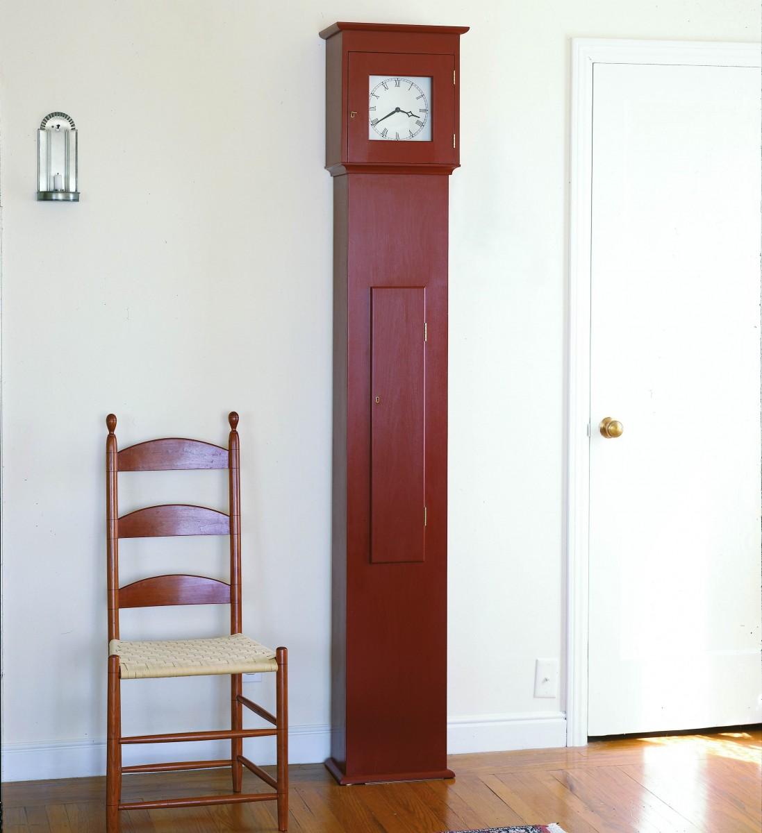 Free Plan Shaker Tall Clock Finewoodworking