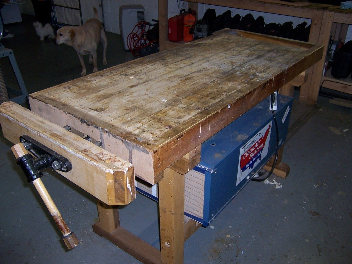 Cool Making A Roubo Workbench Part 1 Finewoodworking Lamtechconsult Wood Chair Design Ideas Lamtechconsultcom