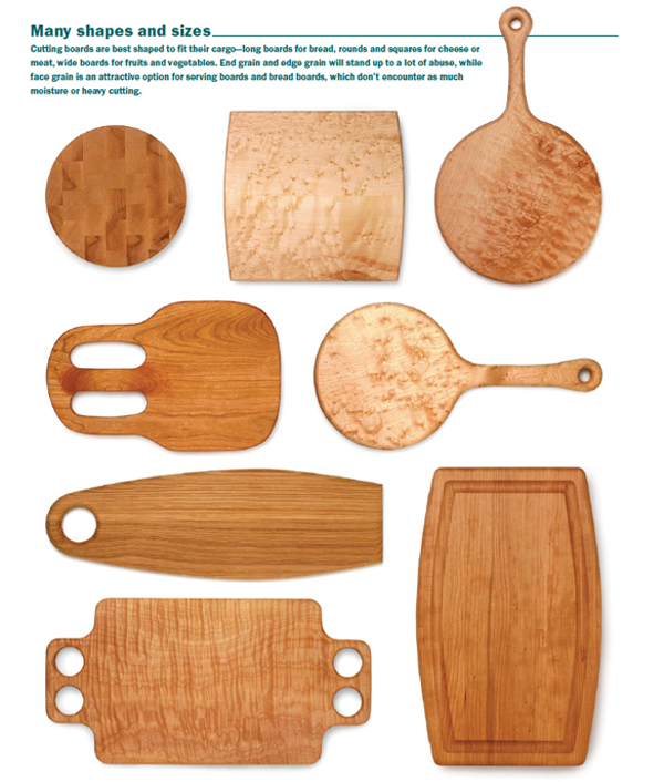 Free Patterns: Bread Boards and Cutting Boards - FineWoodworking