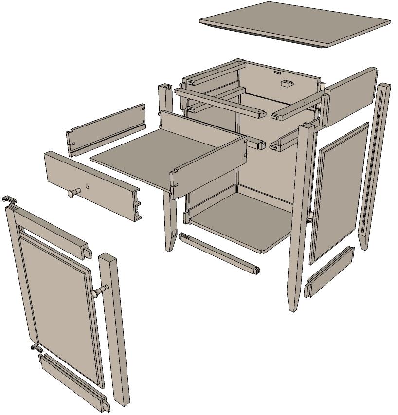 Kitchen Table Legs For Door
