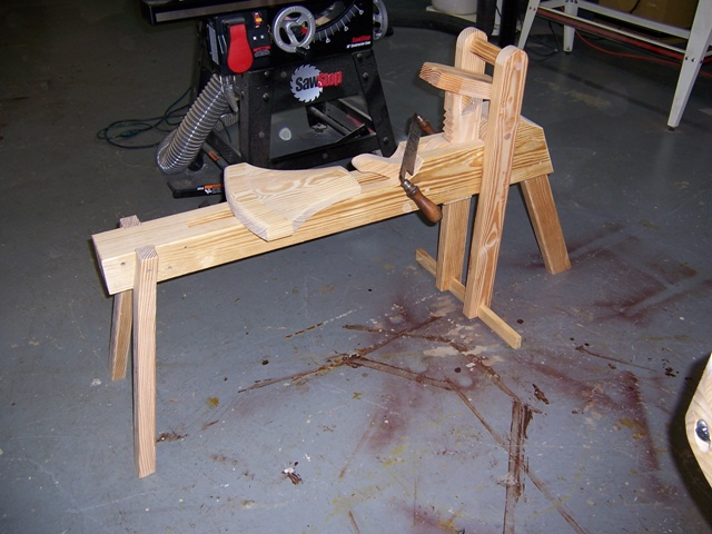My 15 00 Shaving Horse Finewoodworking