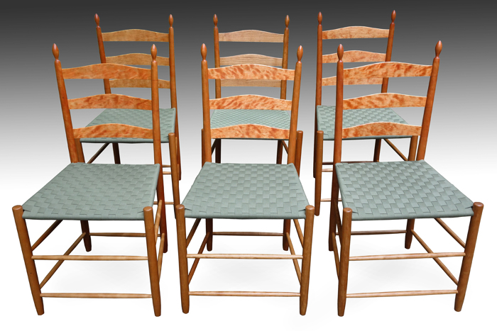 Six Shaker Dining Chairs Finewoodworking