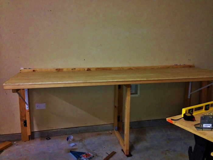 Astounding Space Saving Fold Down Workbench Finewoodworking Pdpeps Interior Chair Design Pdpepsorg