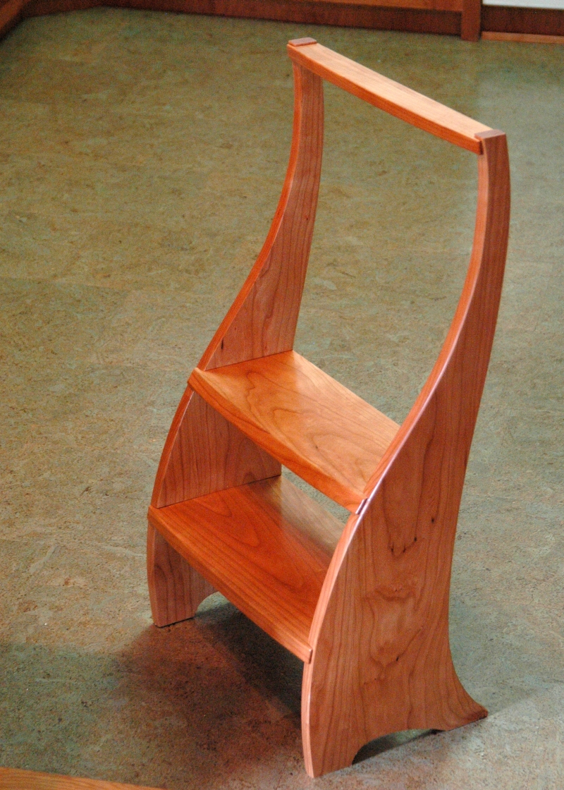 Kitchen Step Stool Finewoodworking