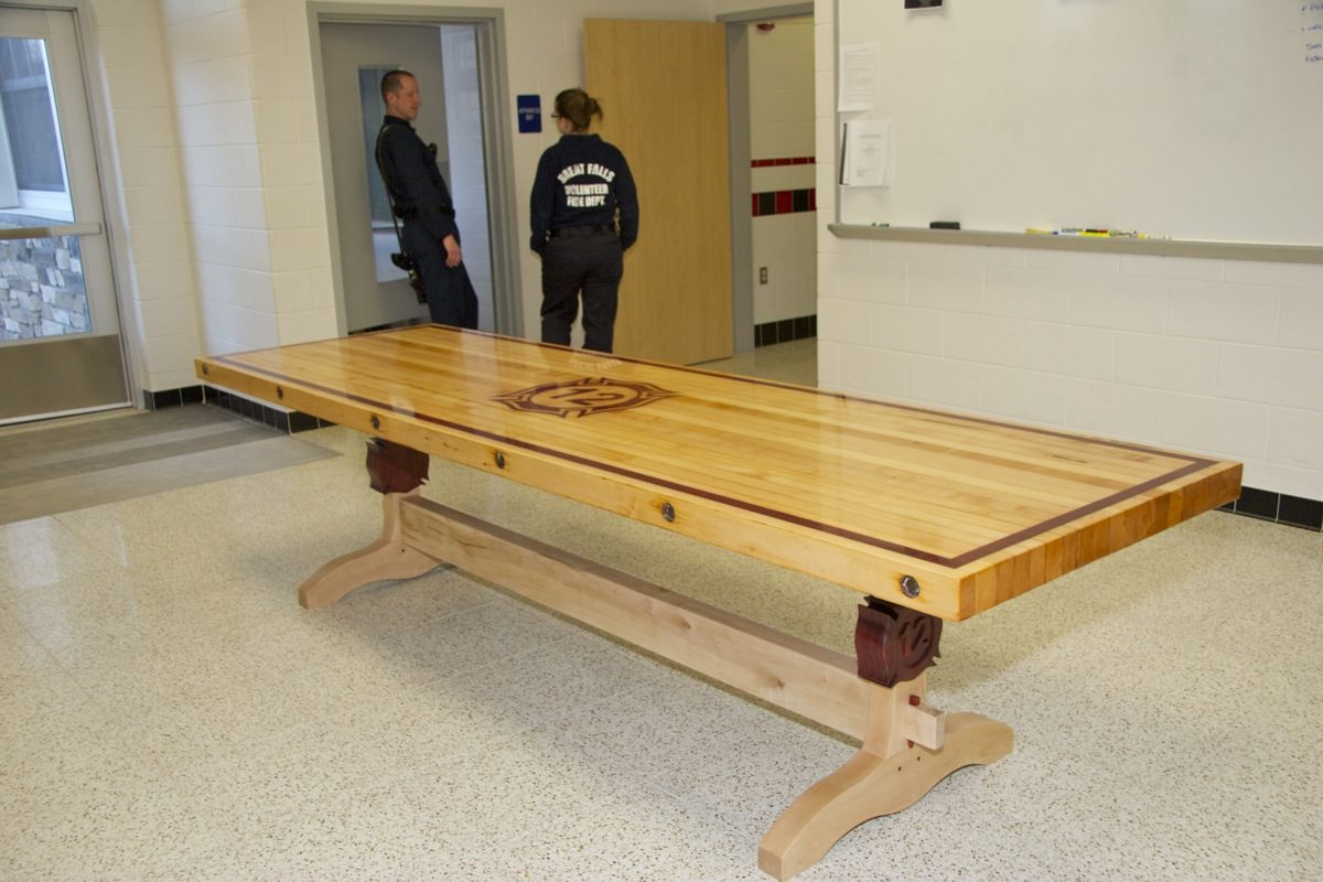 Firehouse Table Finewoodworking
