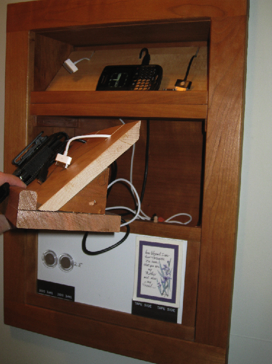 Built In Charging Station Finewoodworking