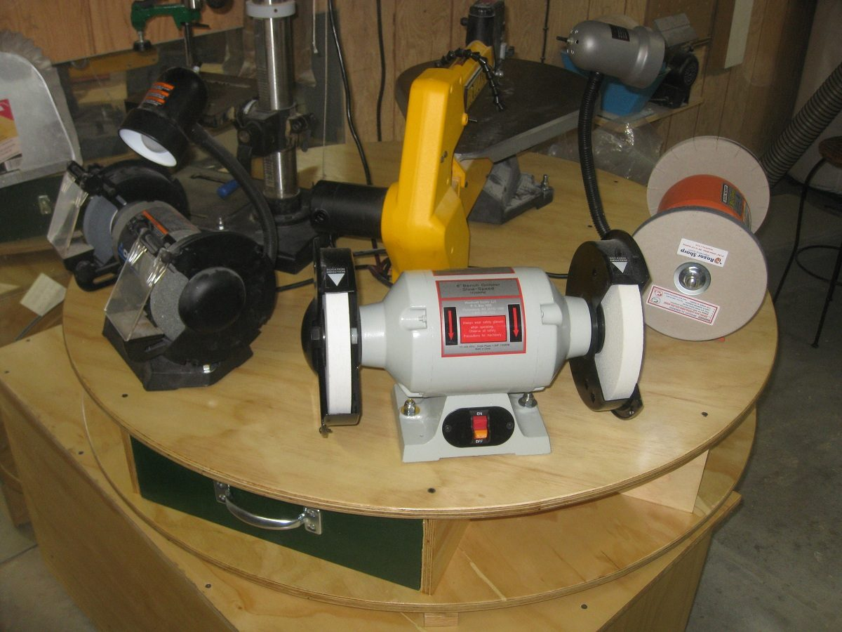 Lazy Stephen Tool Turntable Finewoodworking