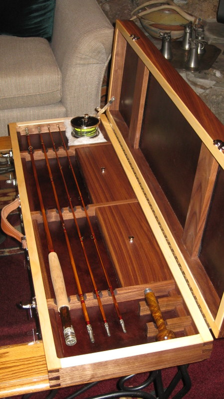 Fly Rod Case - FineWoodworking