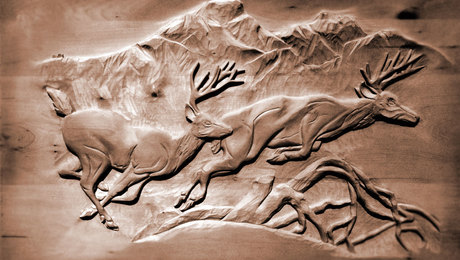 Wood carving finewoodworking