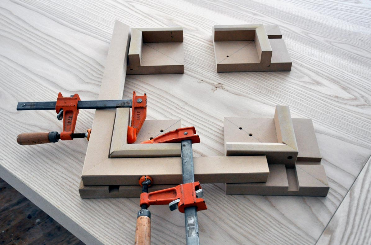 A Pretty Good Mitered Frame Gluing Jig Finewoodworking