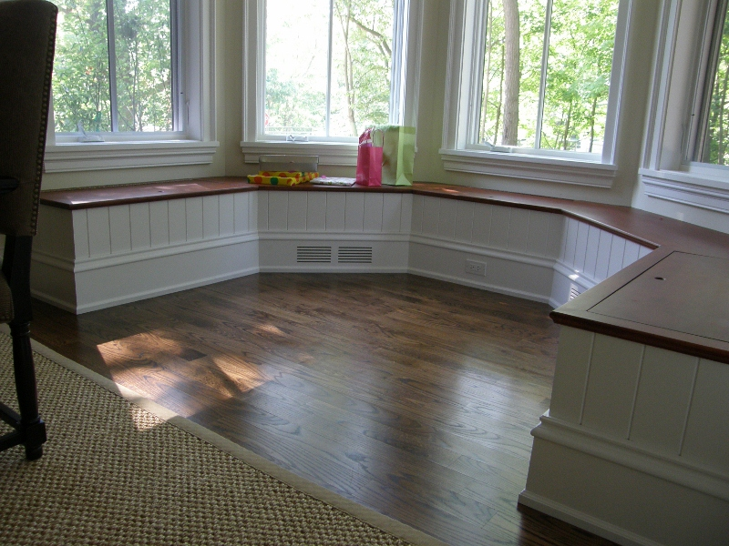 Octagon Window Bench Seat Finewoodworking