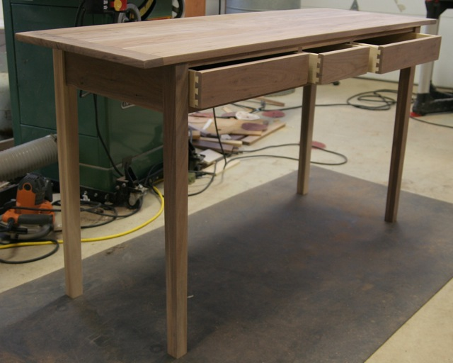 Shaker Desk Finewoodworking