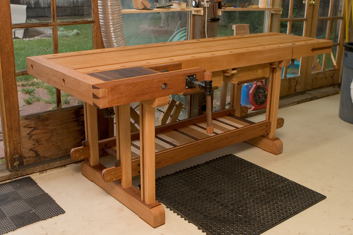 Pete S Scandinavian Style Bench Finewoodworking