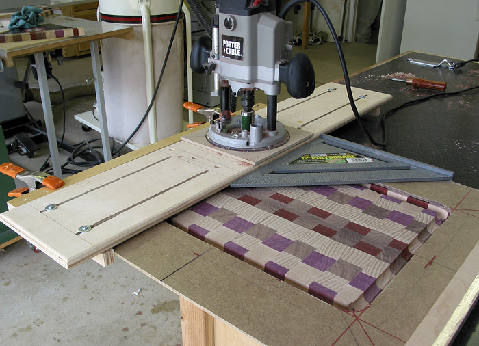 Cutting Board Gouge Amp Flattener Finewoodworking