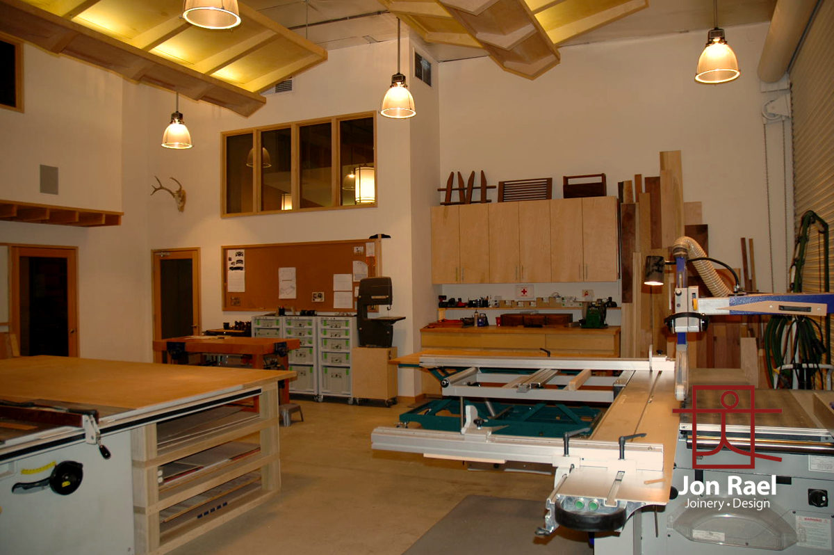 Jon Rael Joinery Design Shop Finewoodworking