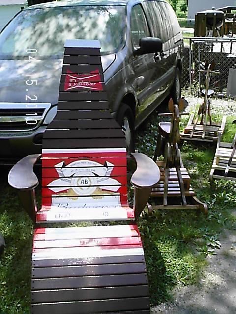 Beer Bottle Adirondack Chair Finewoodworking