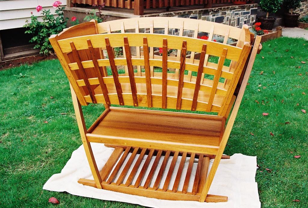Double Rocking Bassinet Crib Finewoodworking