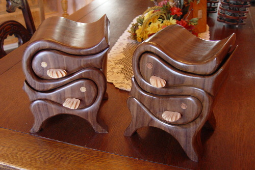Fish Boxes - FineWoodworking