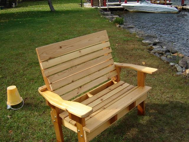 Adirondack Garden Bench Finewoodworking