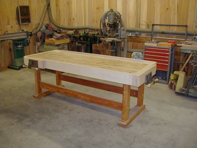 Excellent Woodworking Bench From Recycled Wood Finewoodworking Evergreenethics Interior Chair Design Evergreenethicsorg