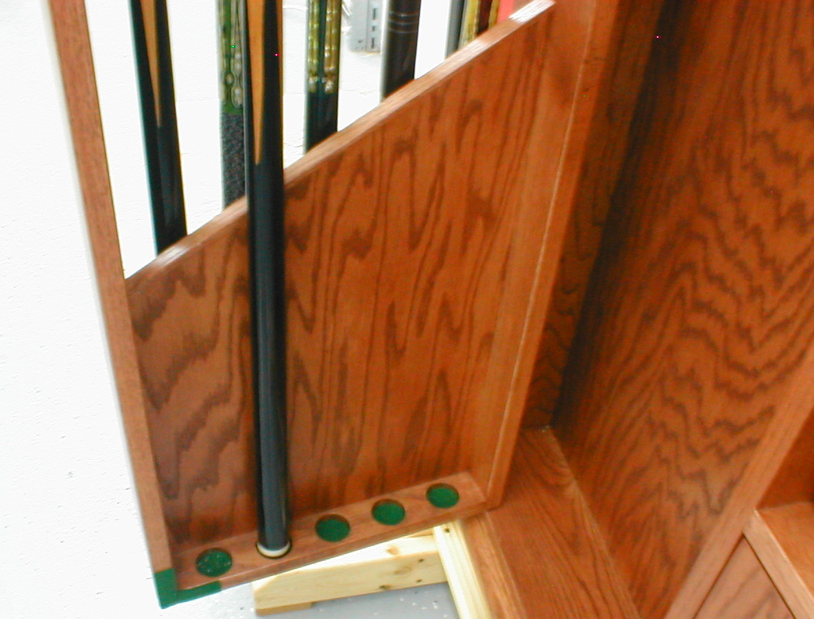 Pool Cue Cabinet Finewoodworking